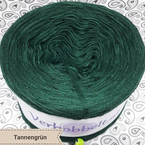 Bobbel unifarben Häkelgarn günstig grün tannengrün