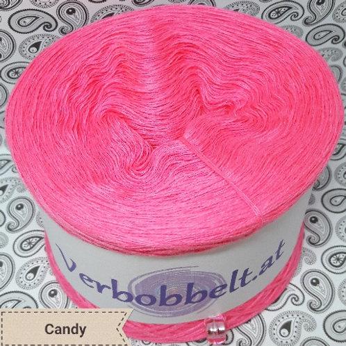 Bobbel unifarben | Bobbel einfärbig candy/rosa/pink