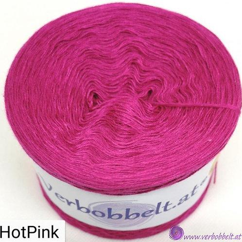 Einfärbiger Bobbel mit kräftigen Pink - TUV Farbe HOT PINK