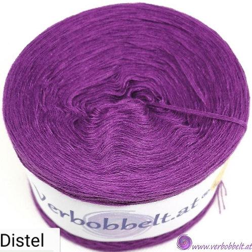 Einfärbiger Bobbel mit kräftigem violettem Farbton