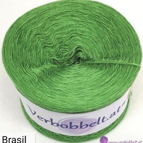 TVU Brasil-Bobbel einfärbig grün brasil