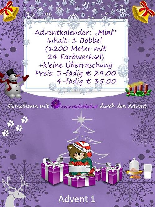 Bobbel Adventskalender (Mini)