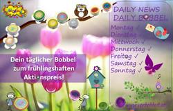 Aktionsbobbel-täglich günstige Bobbel ka