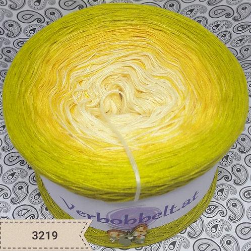 Bobbel Verlaufsgarn gelb limette günstig kaufen