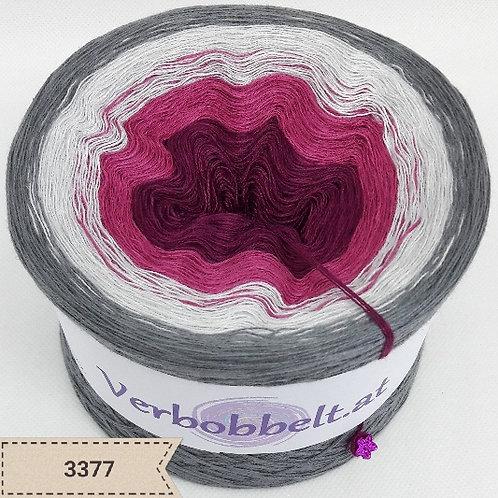 Wunschbobbel selbst entwerfen auf www.verbobbelt.at | Bobbel Grau- und Beerenfarben