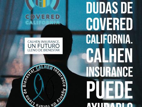 MUY IMPORTANTE declarar los cambios en COVERED CALIFORNIA