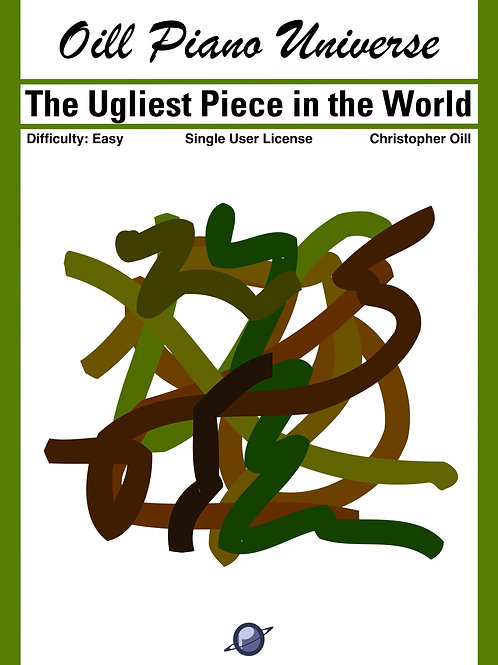 The Ugliest Piece in the World (Single User License)