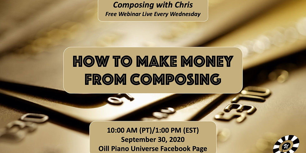 How to Make Money from Composing