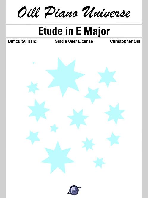 Etude in E Major (Single User License)