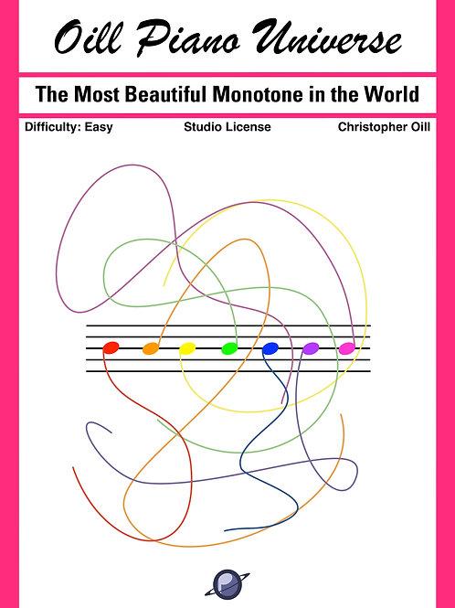 The Most Beautiful Monotone in the World (Studio License)