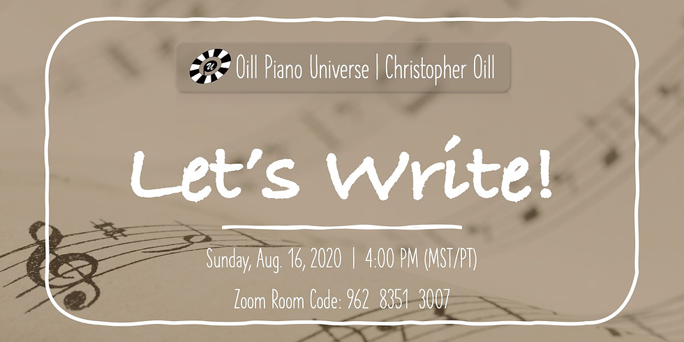 Let's Write!