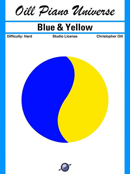 Blue & Yellow (Studio License)
