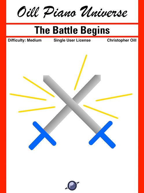 The Battle Begins (single user license)