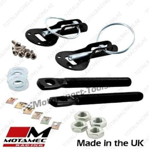 Bonnet Pins (Aluminium)