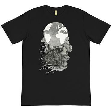 unisex-organic-t-shirt-black-front-601c4