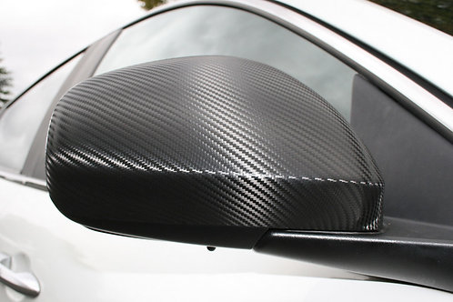 Gloss Carbon Wrapped Side Mirrors