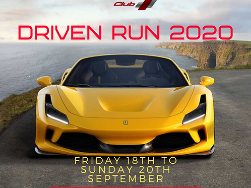 Driven Run 2020 Ticket - One Vehicle