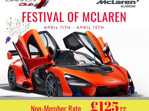 Festival of McLaren (Non-Member Rate)