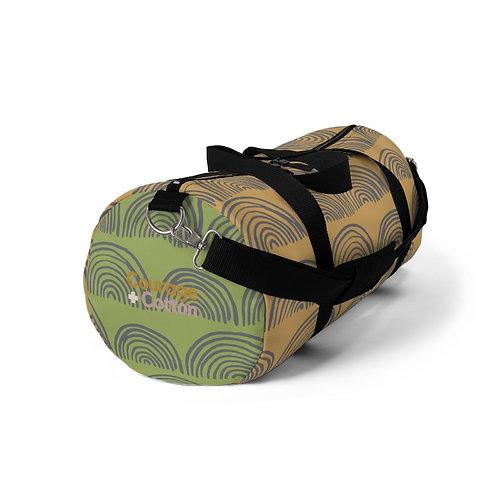 Duffel Bag - Boho REMIX Orange/Green