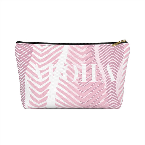 """Accessory Pouch - Coral """"ALOHA"""""""