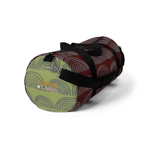 Duffel Bag - Boho REMIX Maroon/Green