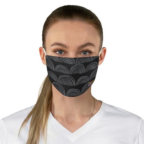 Fabric Face Mask - Boho Black