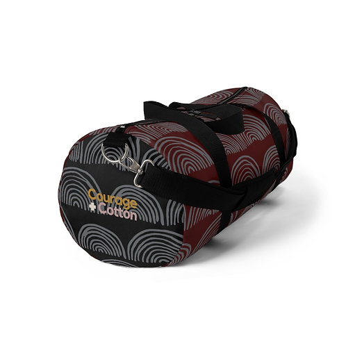 Duffel Bag - Boho REMIX Maroon/Black