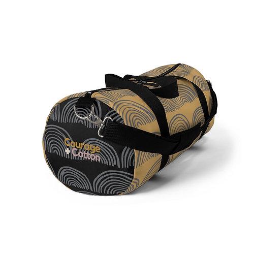 Duffel Bag - Boho REMIX Orange/Black