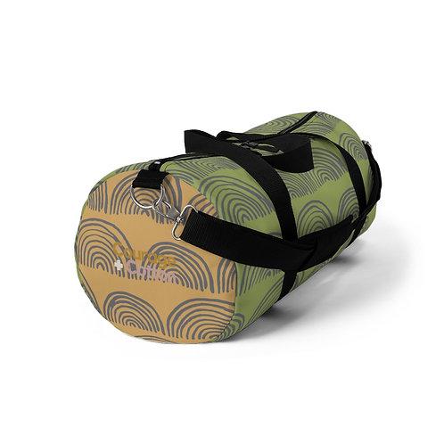 Duffel Bag - Boho REMIX Green/Orange