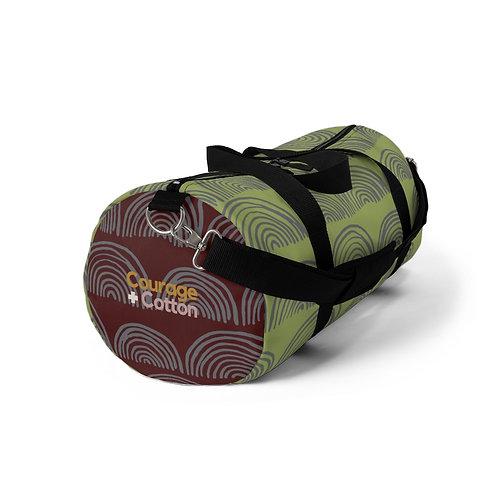 Duffel Bag - Boho REMIX Green/Maroon