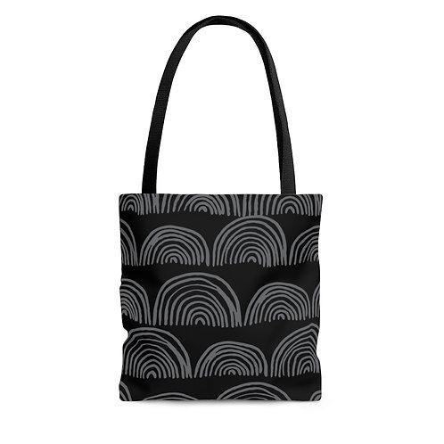Tote Bag - Boho Black