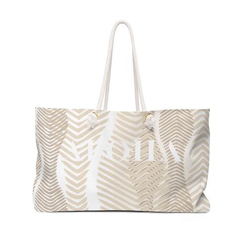 "Weekender Bag - Sand ""ALOHA"""