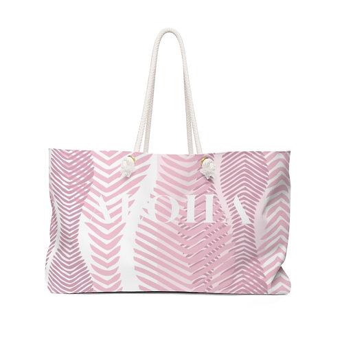 "Weekender Bag - Coral ""ALOHA"""
