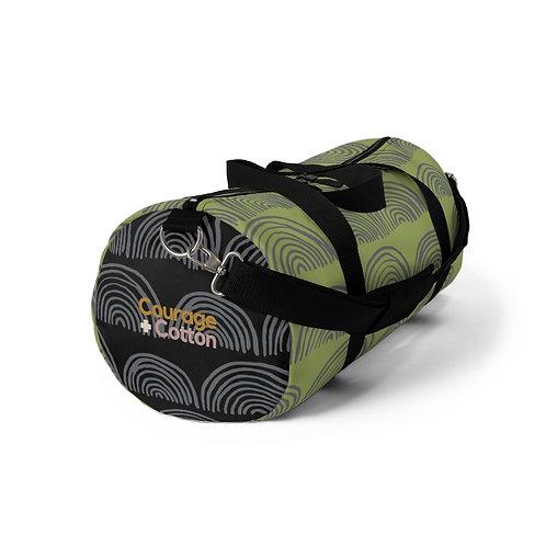 Duffel Bag - Boho REMIX Green/Black