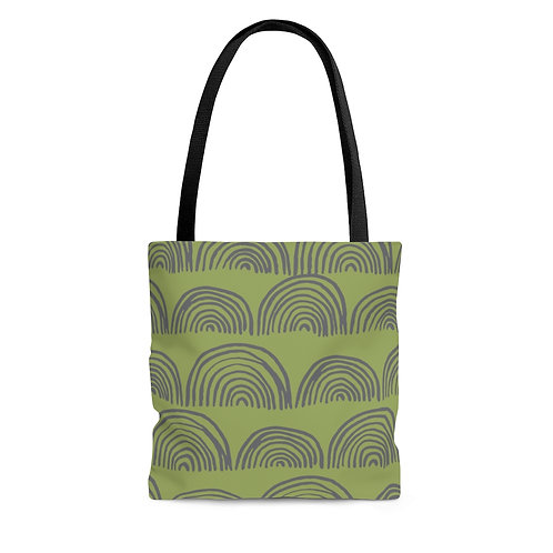 Tote Bag - Boho Green