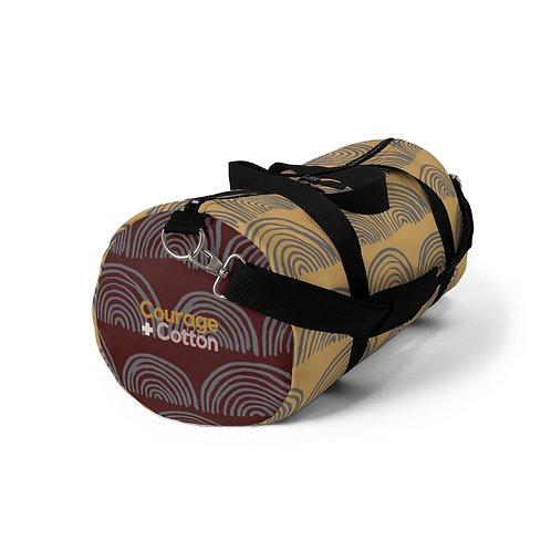 Duffel Bag - Boho REMIX Orange/Maroon