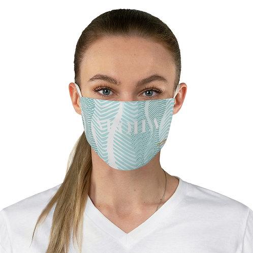 "Fabric Face Mask - Green ""ALOHA"""