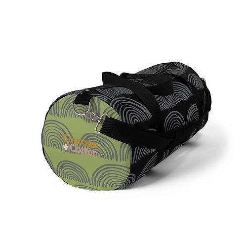 Duffel Bag - Boho REMIX Black/Green