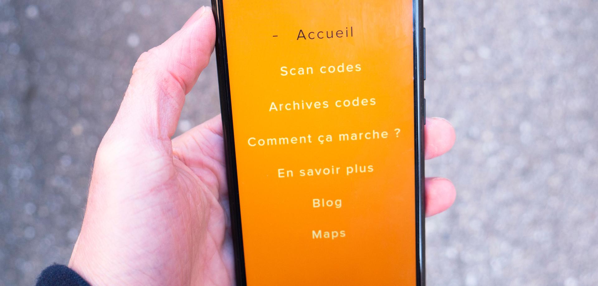 """Application """"Décode Ta Ville"""""""