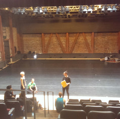 Rehearsal with Hope Mohr Dance