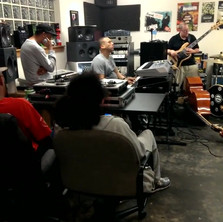 Rehearsing with Souls of Mischief