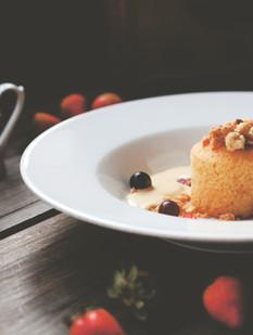 Souffle dessert gourmet restaurant - farrys boutique hotel