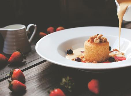 Персиковое творожное суфле с желатином