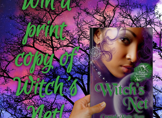 Win a signed copy of Witch's Net!