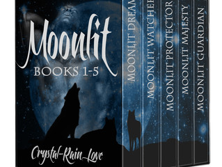 MOONLIT Books 1-5 only .99