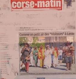 ARTICLE PHOTO JOURNAL CORSE LEVIE 2016
