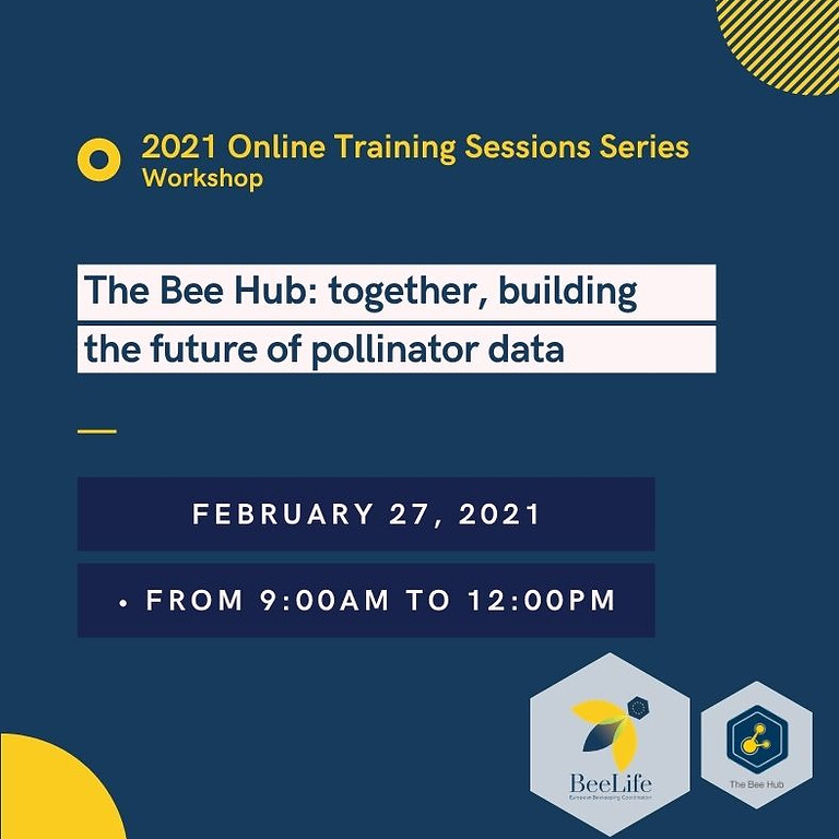 The Bee Hub: together, building the future of pollinator data