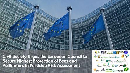 La société civile exhorte le Conseil de l'UE à garantir la meilleure protection des pollinisateurs