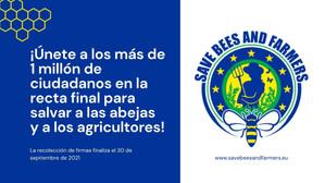 Solo dos días más para firmar la ICE de Salvemos a las Abejas y a los Agricultores (fin 30 sep)