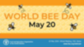 FAO Will (Virtually) Highlight the Role of Bees during the World Bee Day on May 20